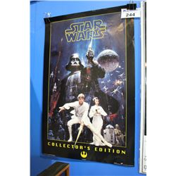 STAR WARS COLLECTORS EDITION MOVIE POSTER