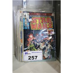 LOT OF STAR WARS AND ASSORTED COMICS