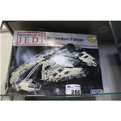 MPC STAR WARS RETURN OF THE JEDI MILLENNIUM FALCON SCALE MODEL KIT