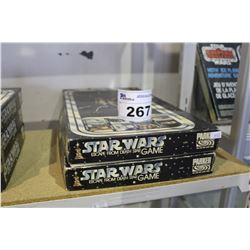 "LOT OF 2 STAR WARS ""ESCAPE FROM DEATHSTAR:"" BOARD GAMES"