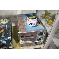 3 STAR WARS JIGSAW PUZZLES