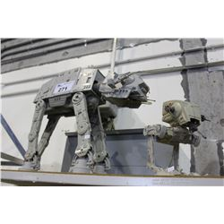 STAR WARS AT-AT MODEL & AT-ST MODEL