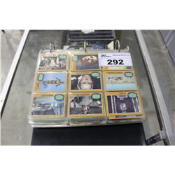 BINDER OF ASSORTED STAR WARS COLLECTOR CARDS