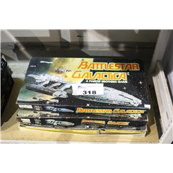 PAIR OF BATTLE STAR GALACTICA BOARD GAMES