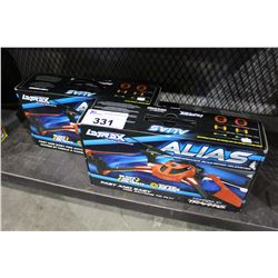 PAIR OF TRAXXAS ALIAS QUADCOPTER