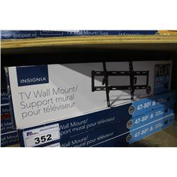 "INSIGNIA 47""-80"" TILTING TV WALL MOUNT"