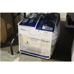 "TEMPUR-PEDIC TEMPUR TOPPER QUEEN SIZE 3"" MATTRESS OVERLAY"