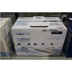 PAIR OF THERAPEDIC TRUCOOL STANDARD & QUEEN SIZE PILLOWS