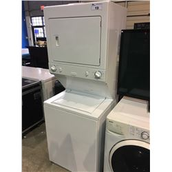 HEAVY DUTY STACKING WASHER AND DRYER SET