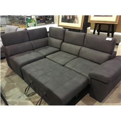 SECTIONAL CONVERTIBLE SOFA/DAY BED