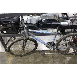 GREY HUFFY MOUNTAIN BIKE