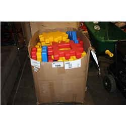 LARGE SET OF CHILDRENS BLOCKS