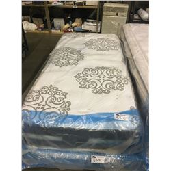 TWIN SIZED SERTA PERFECT SLEEPER PILLOWTOP MATTRESS WITH BOX SPRING