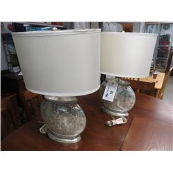 2 DECORATIVE LAMPS