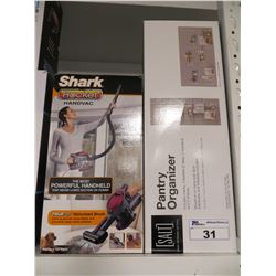 SHARK ROCKET HANDVAC/SALT PANTRY ORGANIZER