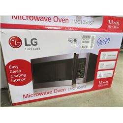 LG 1.1 CU FT STAINLESS MICROWAVE OVEN MODEL LMC1050ST
