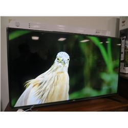 """LG 50"""" UHD 4K TV MODEL 50UH55 HDR PRO (FLOOR DEMO) WITH REMOTE"""