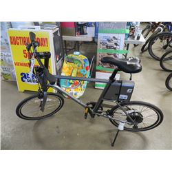 NEW SURFACE 604 ELECTRIC BIKE WITH CHARGER AND ACC REMOVABLE BATTERY PACK WITH DOWNLOADABLE FITNESS