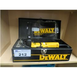 DEWALT PLATE JOINTER