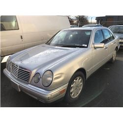 1997 MERCEDES E320W, 4DR SEDAN, GREY, VIN # WDBJF55F7VA310322