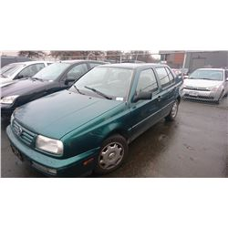 1996 VOLSWAGEN JETTA, GREEN, 4 DOOR SEDAN, GAS, AUTOMATIC, VIN#3VWSL81H2TM003967, 192,158KMS,