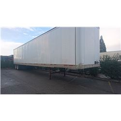 2000 TRAILMOBILE 53' COMMERCIAL TRAILER, VIN#2MN01JAHY1002942, NO ICBC DECLARATIONS