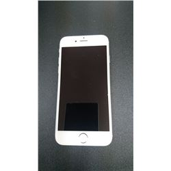 APPLE IPHONE 6-64GB, SILVER, LOCKED TO BELL, WORKING ORDER, NO POWER CORD OR ACCESSORIES, SOME MINOR