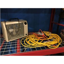 ELECTRIC HEATER/ELECTRIC EXTENSION CORD/ ELECTRIC DRILL