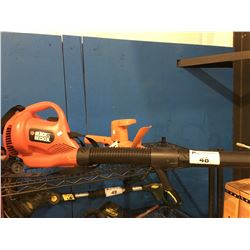 BLACK & DECKER ELECTRIC BLOWER & HEDGE TRIMMER