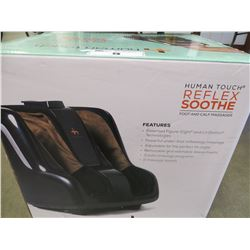 HUMAN TOUCH REFLEX SOOTH FOOT & CALF MASSAGER