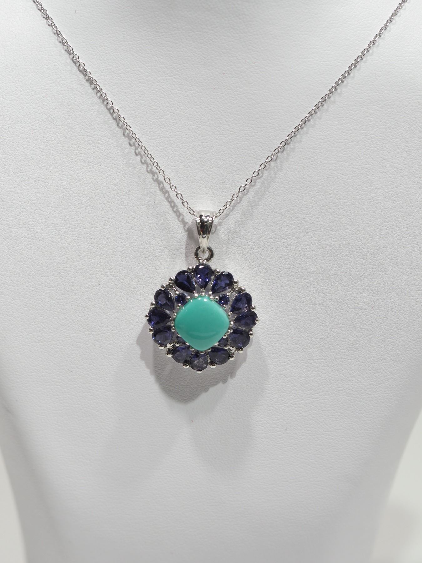 gardens pendant iolite alex necklace kew monroe bluebell lolite shop
