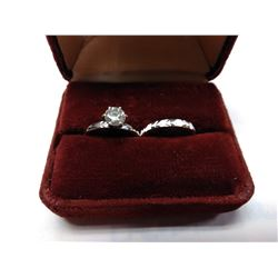 Fabian Estate Diamond Ring Set
