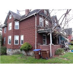 ABSOLUTE AUCTION Real Estate: 87-89 S. Irvine Ave, Sharon, PA
