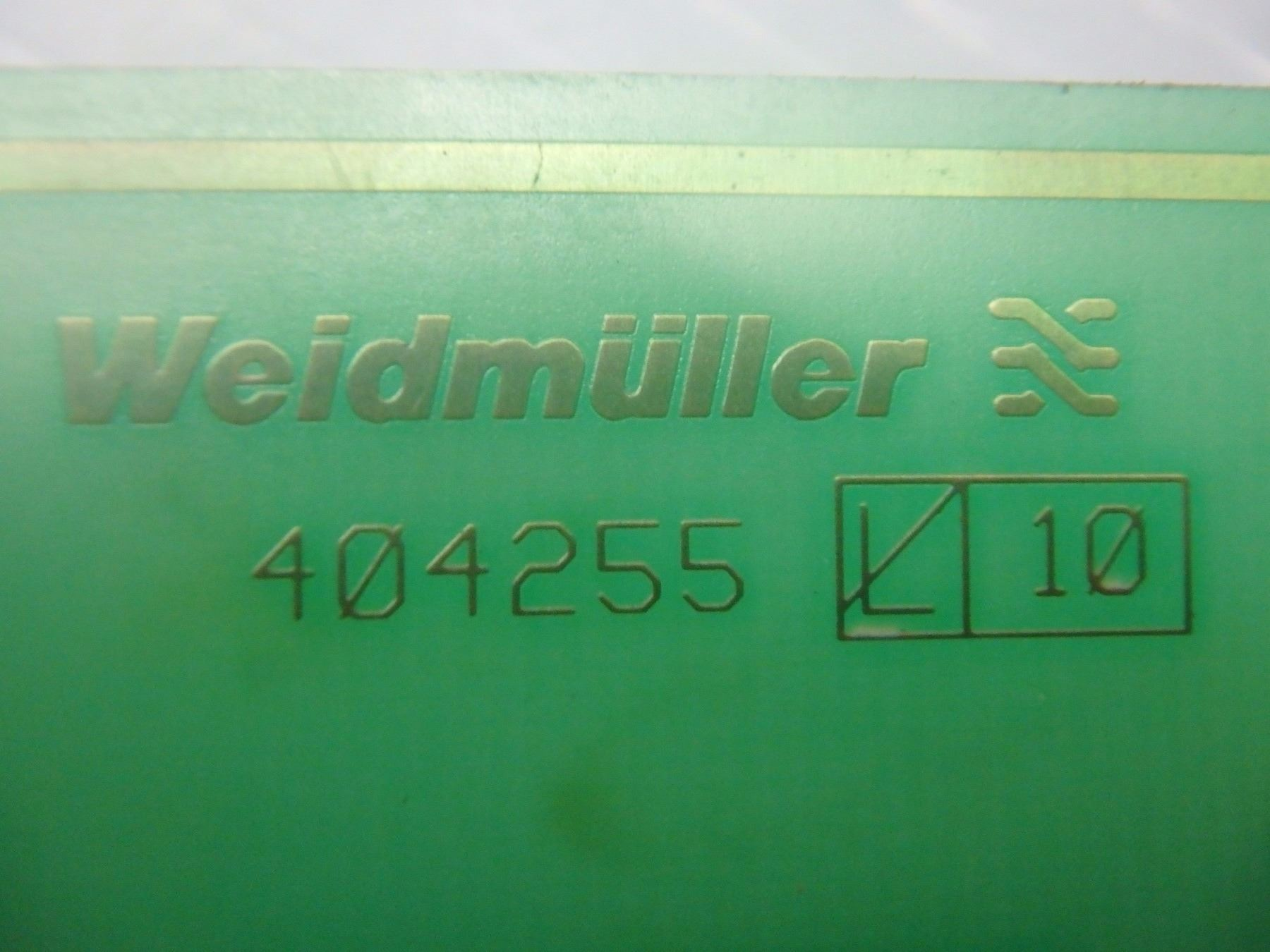 Weidmuller 404255 Relay Board Terminal Relays Image 4