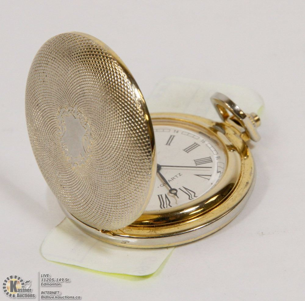 How To Replace Battery For A Pocket Watch - YouTube