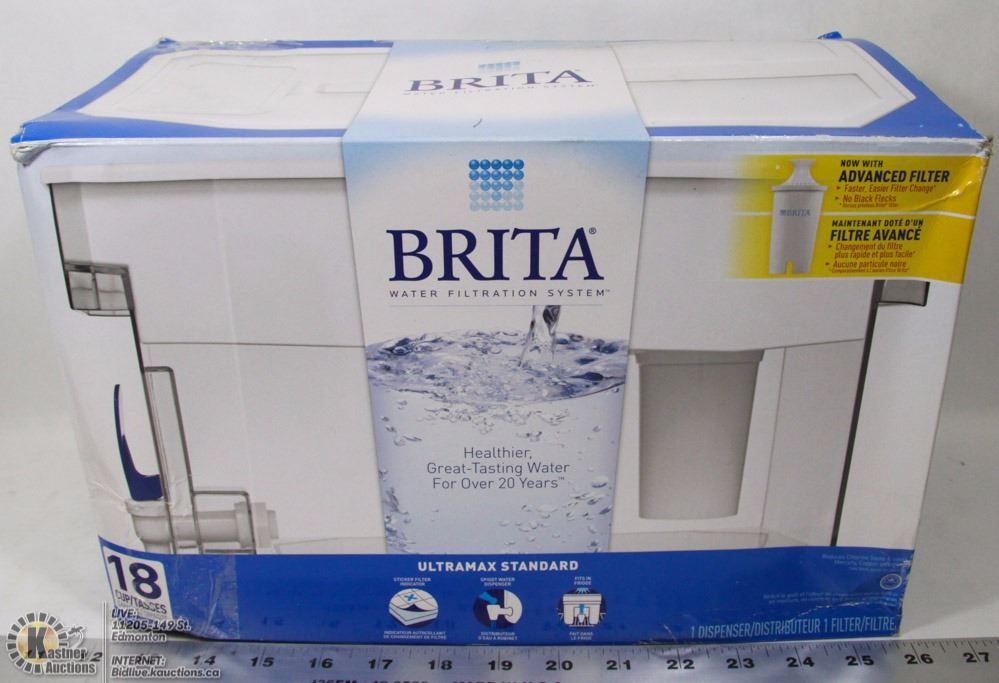 brita in search of a winning Win your family one of four brita water filter prize packs including: the marella jug (blue) a two-pack of maxtra+ filter a two-pack of maxtra.