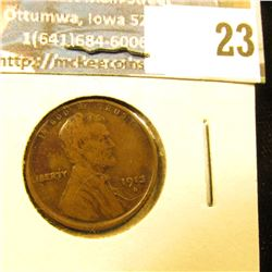 1913-S SEMI KEY DATE WHEAT PENNY