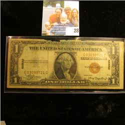 HAWAII OVERPRINT BROWN SEAL SILVER CERTIFICATE