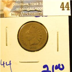1859 COPPER NICKEL INDIAN HEAD PENNY