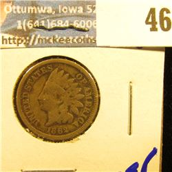 1862 COPPER NICKEL INDIAN HEAD PENNY