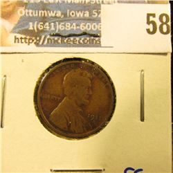 1911-S SEMI KEY DATE WHEAT PENNY