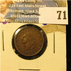 """1863 CIVIL WAR TOKEN .  IT SAYS """"OUR COUNTRY"""" ON TH REVERSE"""