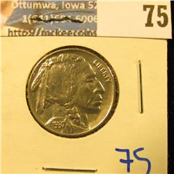SHARP 1937 BUFFALO NICKEL