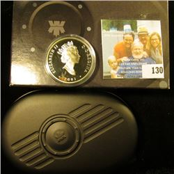 2003 $20 SILVER ONE TROY OUNCE COIN FROM CANADA.  IT IS A PART OF A CANADIAN COIN SERIES ON COINS.