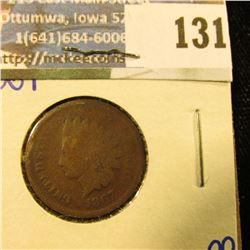 1867 SEMI KEY DATE INDIAN HEAD PENNY