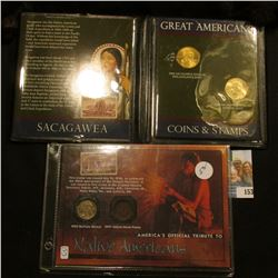 NATIVE AMERICAN INDIAN COIN SETS