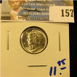 1945 MERCURY DIME.  THIS IS A NICE ONE FOR YOUR SET.