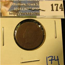 1869 KEY DATE INDIAN HEAD PENNY