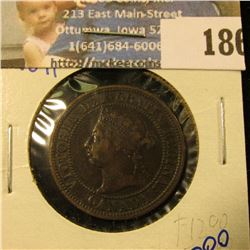1891 CANADIAN LARGE CENT BETTER DATE