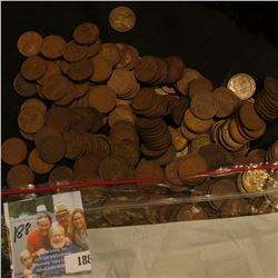 382 wheat pennies from the 1920's